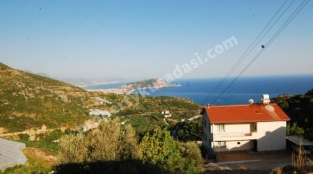 Full Seaview Villa in Alanya Dinek