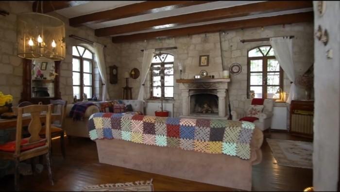 Alaçatı Çeşme'de Taş Villa