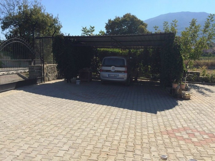 Farm House with 2340m2 Private Garden in Kusadasi