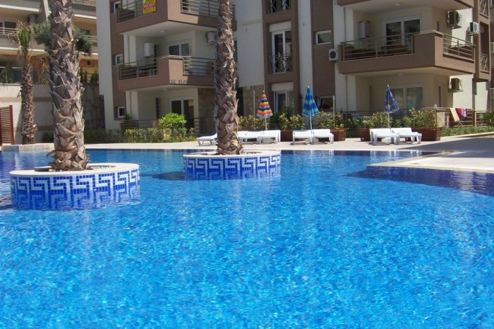 Large 3 Bedroomed Penthouse in Kusadasi Town Center